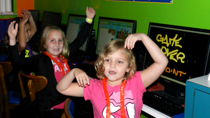 Free Computer and Game Stations for Birthday Parties - Thousand of free games